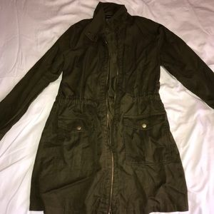 NWOT Army Green Jacket
